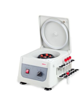 Unico Powerspin Fx Centrifuge Fixed Speed 3400 Rpm 8 Place w/ Tube Holdster Rack C808H