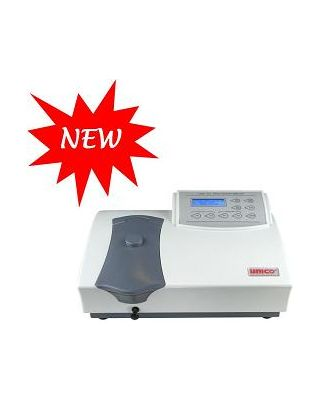 Unico LCD Display Programmable Spectrophotometer