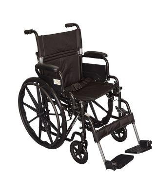 Ziggo Lightweight Wheelchair 18 inch Seat for Kids & Teens
