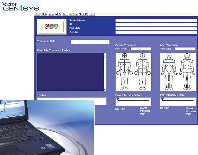 Chattanooga Patient Data Management System PDMS Software, 2768